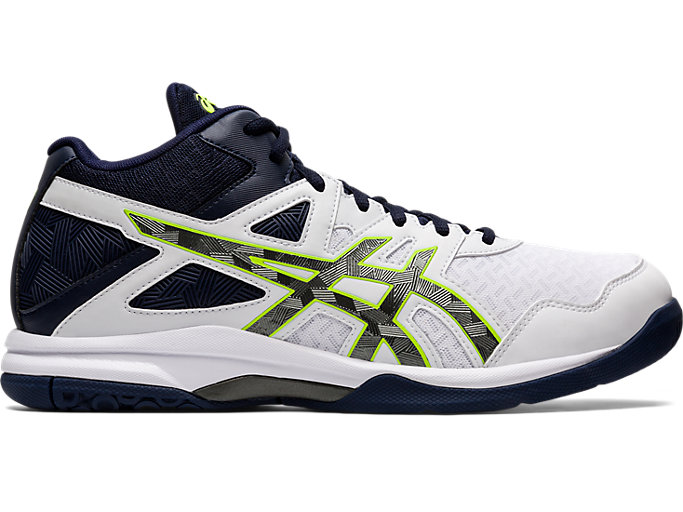 Men's GEL TASK™ MT 2 | WHITE GUNMETAL | Volleyball | ASICS
