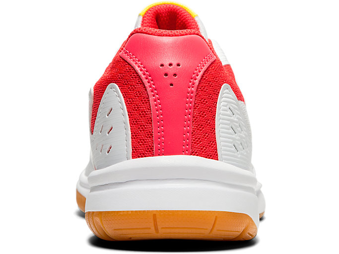 Back view of UPCOURT™ 3, WHITE/LASER PINK