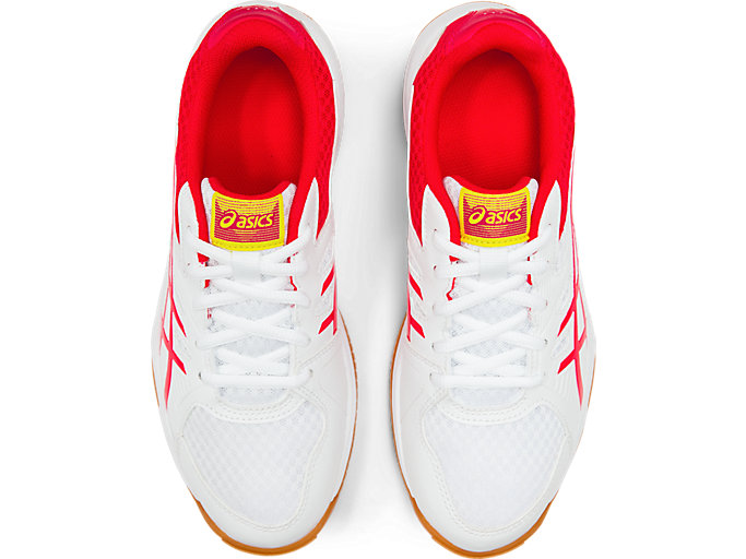 Top view of UPCOURT™ 3, WHITE/LASER PINK