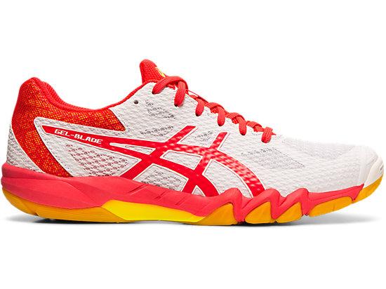 Asics Gel Blade 5 White squash shoes
