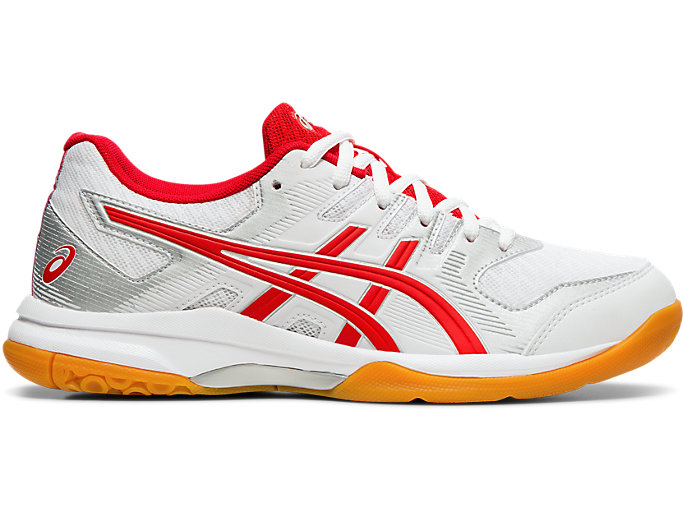 Women's GEL ROCKET 9 | WHITECLASSIC RED | Volleyball | ASICS