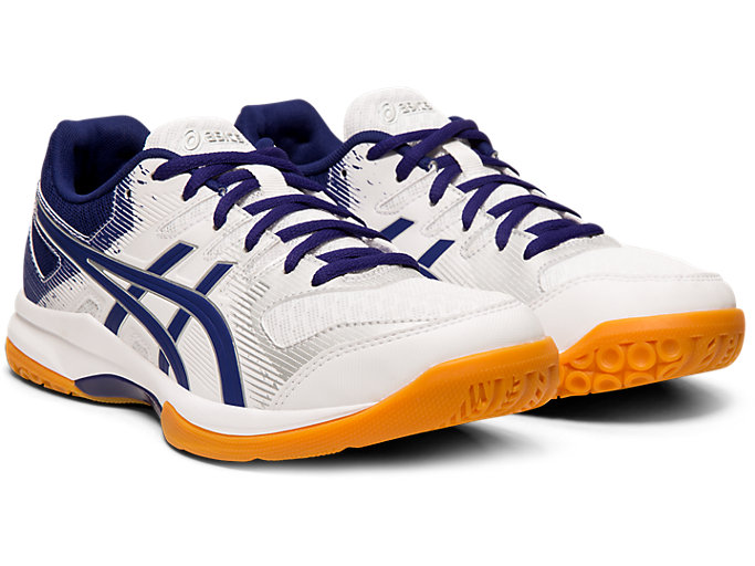 GEL ROCKET™ 9 | WHITEDIVE BLUE | DAMEN NETBALL SCHUHE | ASICS