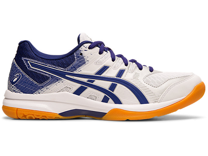 Women's GEL ROCKET 9 | WHITEDIVE BLUE | Netball | ASICS