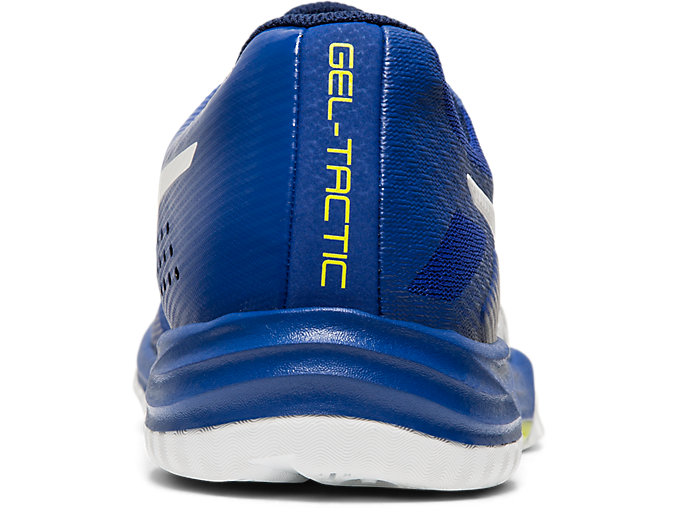 Back view of GEL-TACTIC™ 2, ASICS BLUE/WHITE