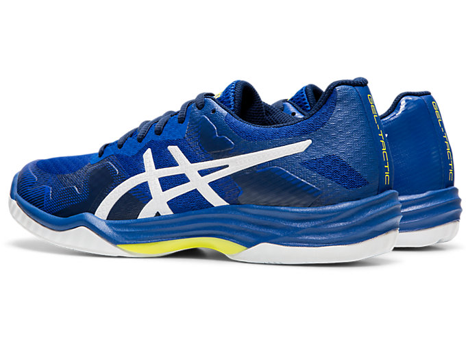 Front Left view of GEL-TACTIC™ 2, ASICS BLUE/WHITE