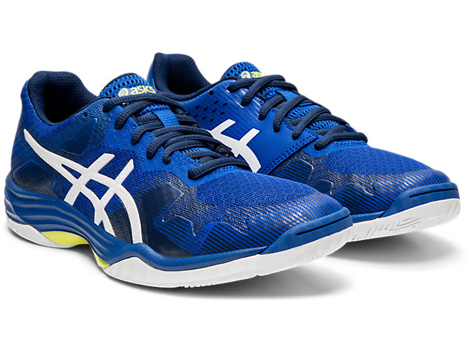 Front Right view of GEL-TACTIC™ 2, ASICS BLUE/WHITE