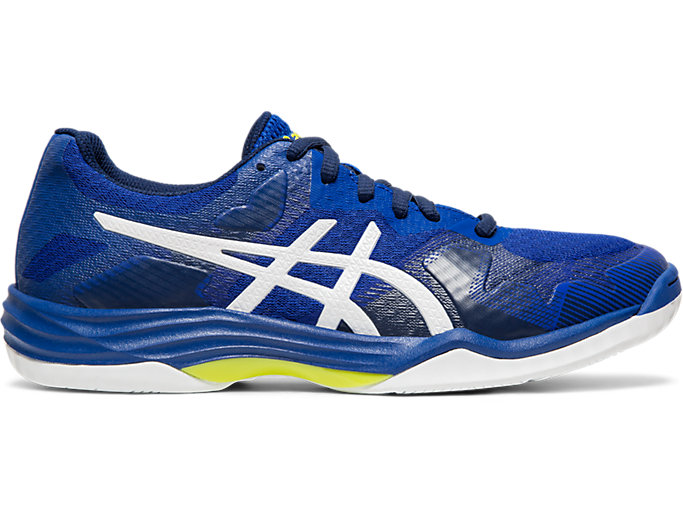 Right side view of GEL-TACTIC™, ASICS BLUE/WHITE