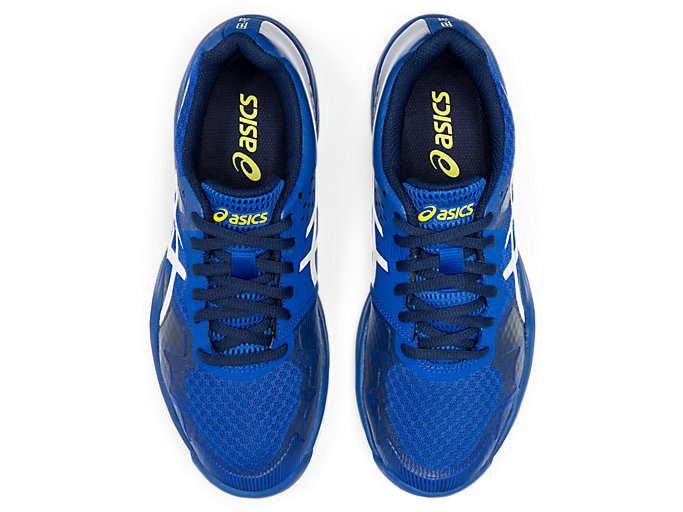 Top view of GEL-TACTIC™ 2, ASICS BLUE/WHITE