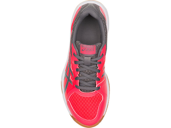 Top view of UPCOURT 3 GS, DIVA PINK/CARBON