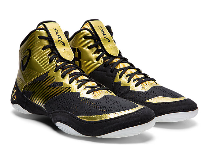 Front Right view of JB ELITE™ IV, RICH GOLD/BLACK