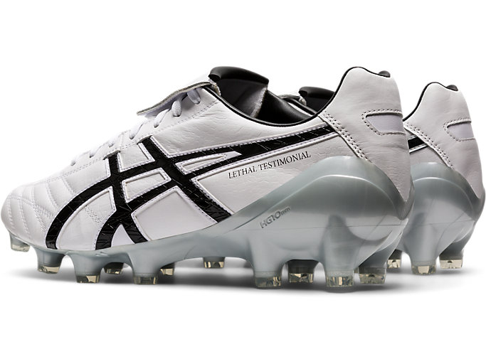 Front Left view of LETHAL TESTIMONIAL 4 IT, WHITE/BLACK