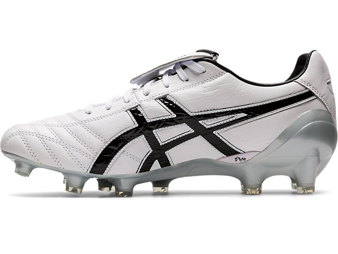 Left side view of LETHAL TESTIMONIAL 4 IT, WHITE/BLACK