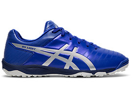 Right side view of DS LIGHT 3 Jr TF, ASICS BLUE/SILVER