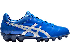 Right side view of DS LIGHT 3 Jr, ASICS BLUE/SILVER