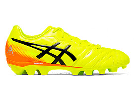Right side view of ULTREZZA AI GS, SAFETY YELLOW/BLACK