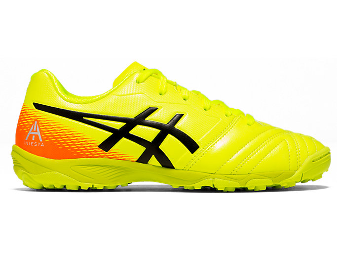 Right side view of ULTREZZA AI GS TF, SAFETY YELLOW/BLACK