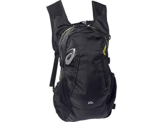 Running Backpack (20L) Performance Black/Electric Lime 3
