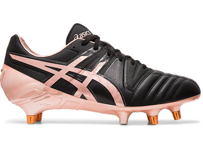 Right side view of GEL-LETHAL TIGHT FIVE L.E., BLACK/ROSE GOLD