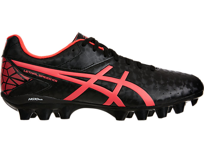Right side view of LETHAL SPEED™ RS, BLACK/DIVA PINK