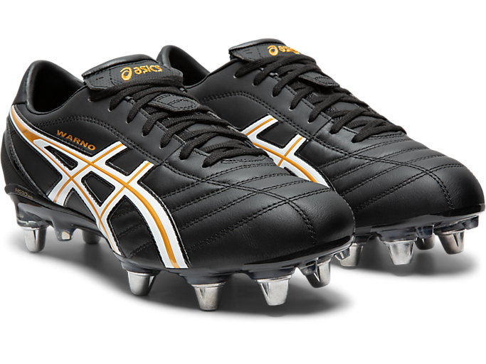 Front Right view of LETHAL WARNO ST 2, BLACK/PURE GOLD