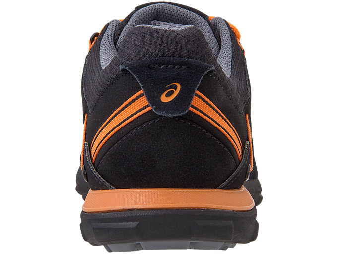 Back view of FIELDWALKER601, ブラック×ラーヴァオレンジ