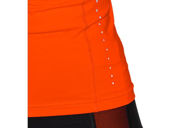 INNERMUSCLE 1/2 ZIP TOP Heather Grey/Cone Orange 11