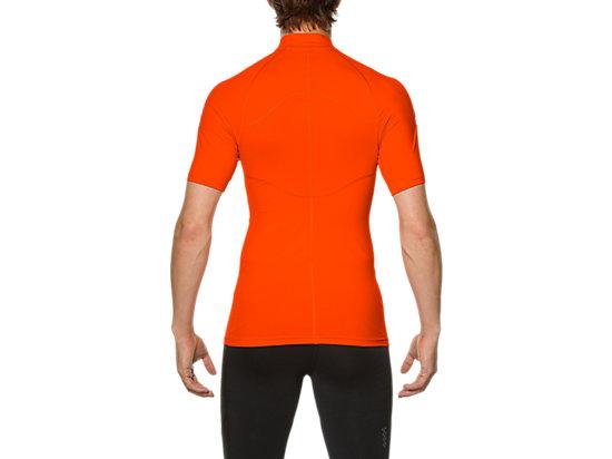 INNERMUSCLE 1/2 ZIP TOP Heather Grey/Cone Orange 7