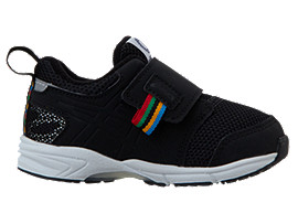 Right side view of TOKYO 2020 OLYMPIC EMBLEM MOOGEE BABY, BLACK / BK