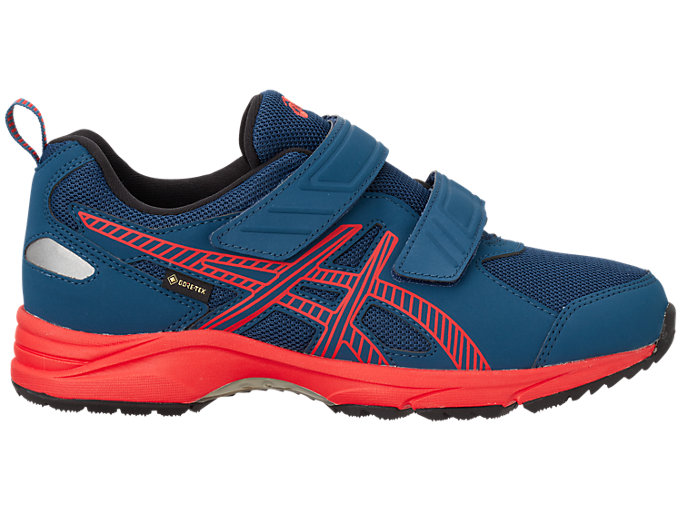 Right side view of GELRUNNER®G-TX Jr. 2, ダークネイビー×フラッシュレッド