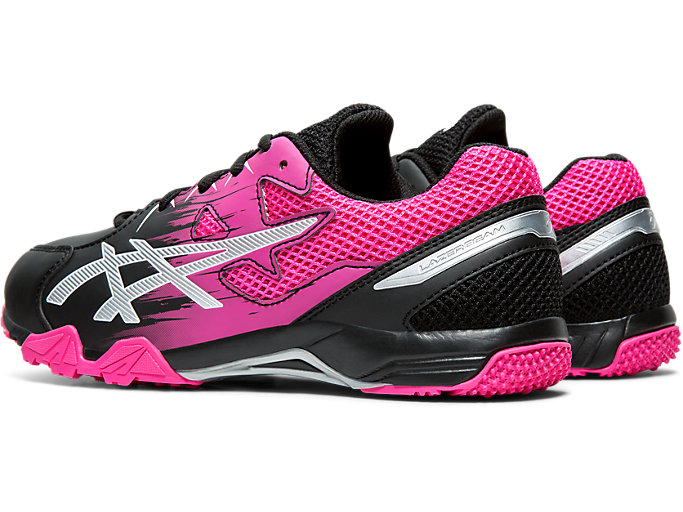 Front Left view of LAZERBEAM® SD, BLACK/PINK GLO