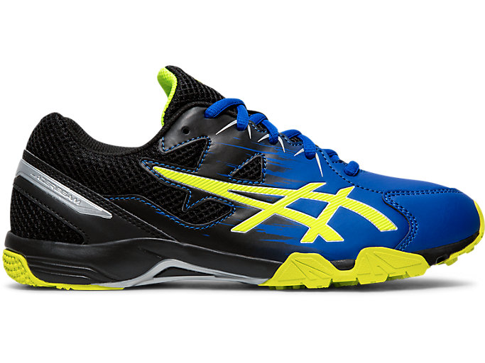 Right side view of LAZERBEAM® SD, ASICS BLUE/SAFETY YELLOW