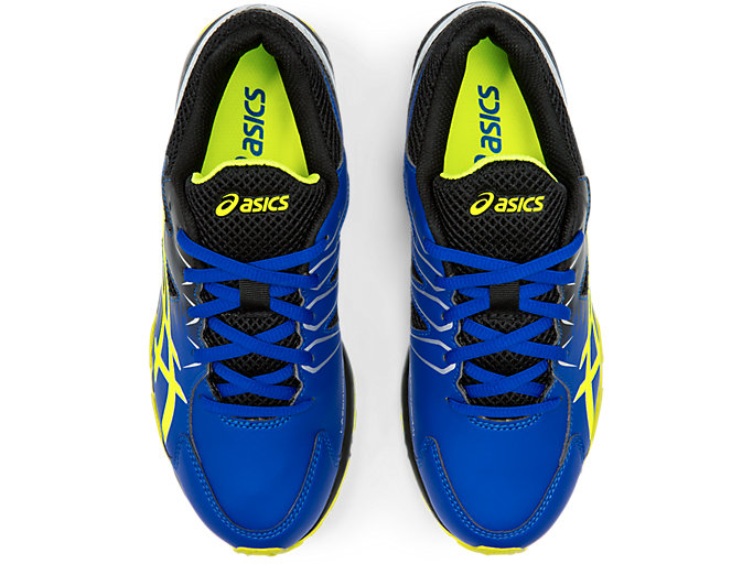 Top view of LAZERBEAM® SD, ASICS BLUE/SAFETY YELLOW