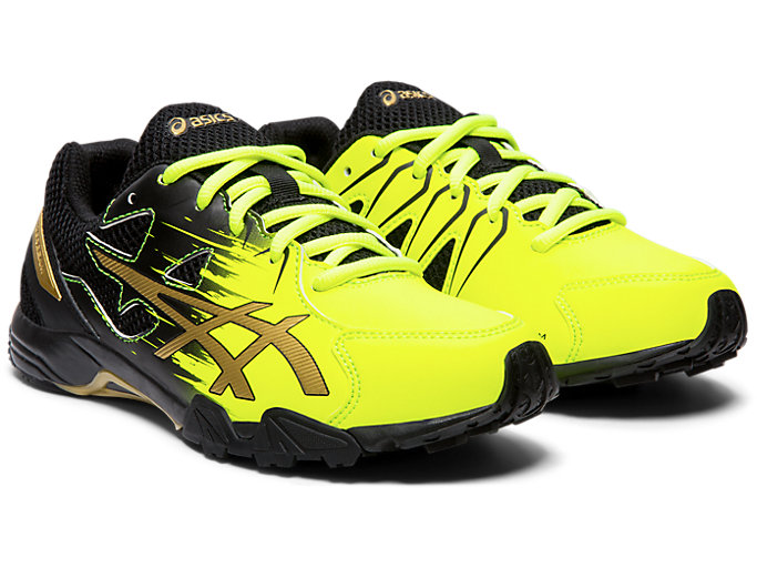 Front Right view of LAZERBEAM® SD, SAFETY YELLOW/RICH GOLD