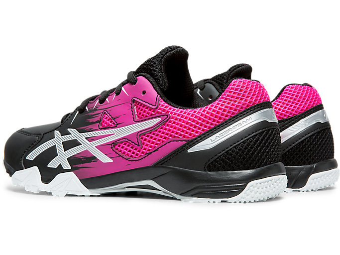 Front Left view of LAZERBEAM® SD-W, BLACK/PINK GLO