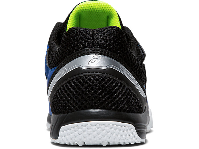 Back view of LAZERBEAM® SD-MG-W, ASICS BLUE/SAFETY YELLOW