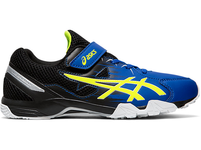 Right side view of LAZERBEAM® SD-MG-W, ASICS BLUE/SAFETY YELLOW