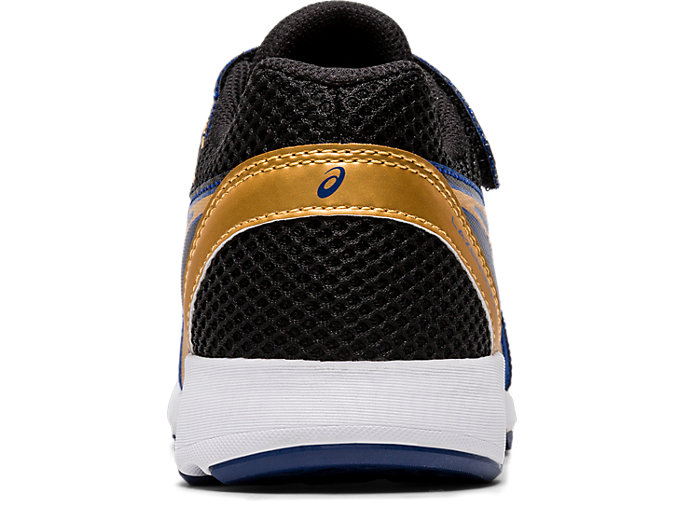 Back view of LAZERBEAM® RE-MG, ASICS BLUE/PURE GOLD