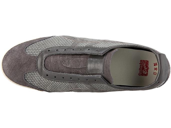 Top view of MEXICO SLIP-ON DELUXE, CARBON/CARBON