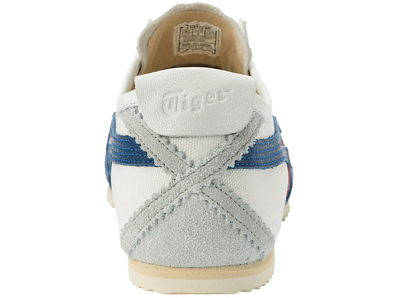 MEXICO SLIP-ON DELUXE WHITE/ASICS BLUE 25 BK