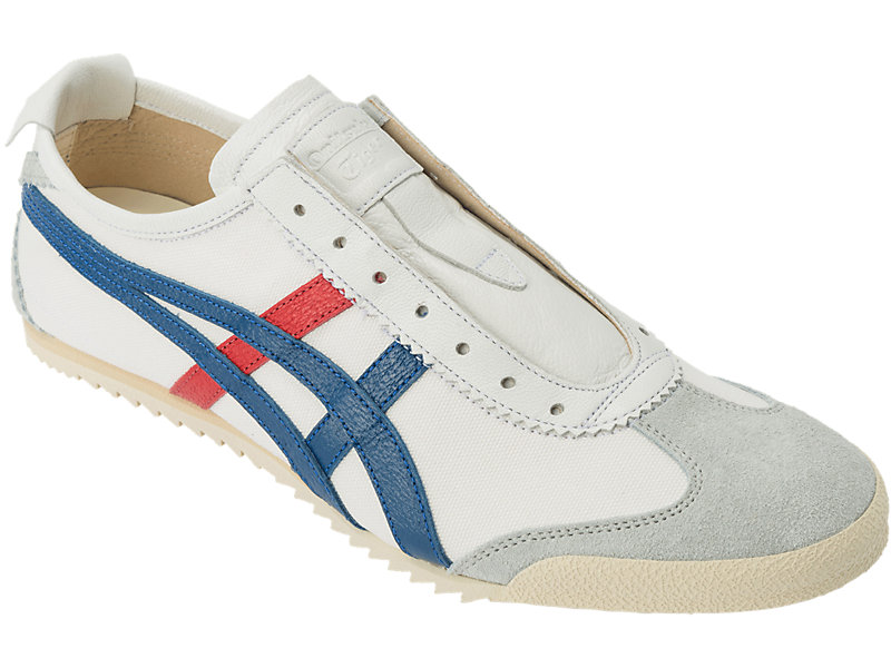 MEXICO SLIP-ON DELUXE WHITE/ASICS BLUE 5 FR