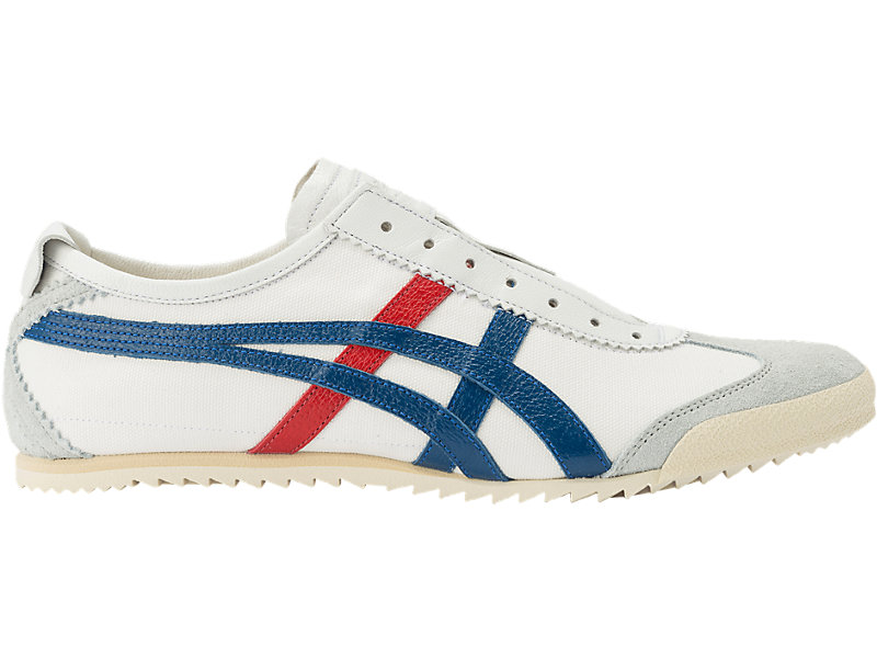 MEXICO SLIP-ON DELUXE WHITE/ASICS BLUE 1 RT