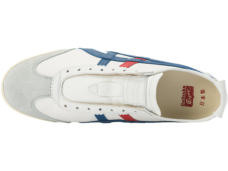 MEXICO SLIP-ON DELUXE WHITE/ASICS BLUE 21 TP
