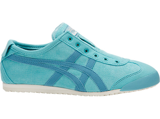 newest bf62a d2ce0 MEXICO 66 SLIP-ON   WOMEN   BLUE BELL/GRIS BLUE   Onitsuka ...