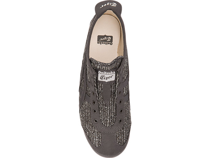 Top view of MEXICO 66 SLIP-ON, BLACK/BLACK