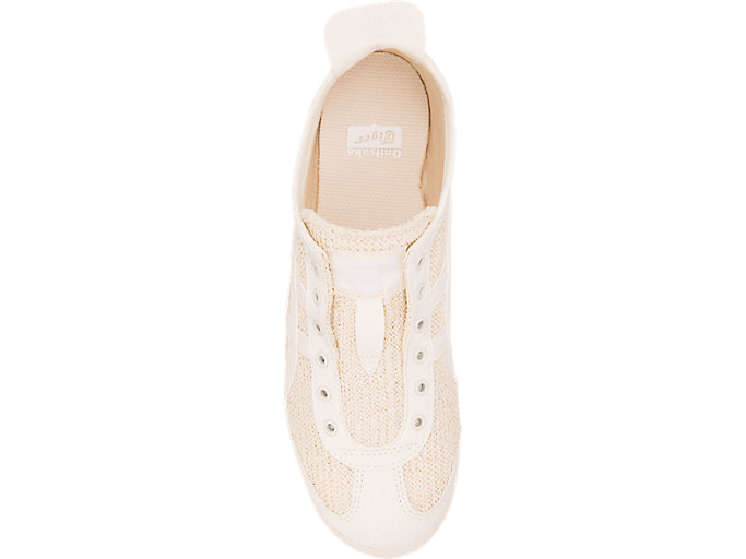 Top view of MEXICO 66 SLIP-ON, CREAM/CREAM