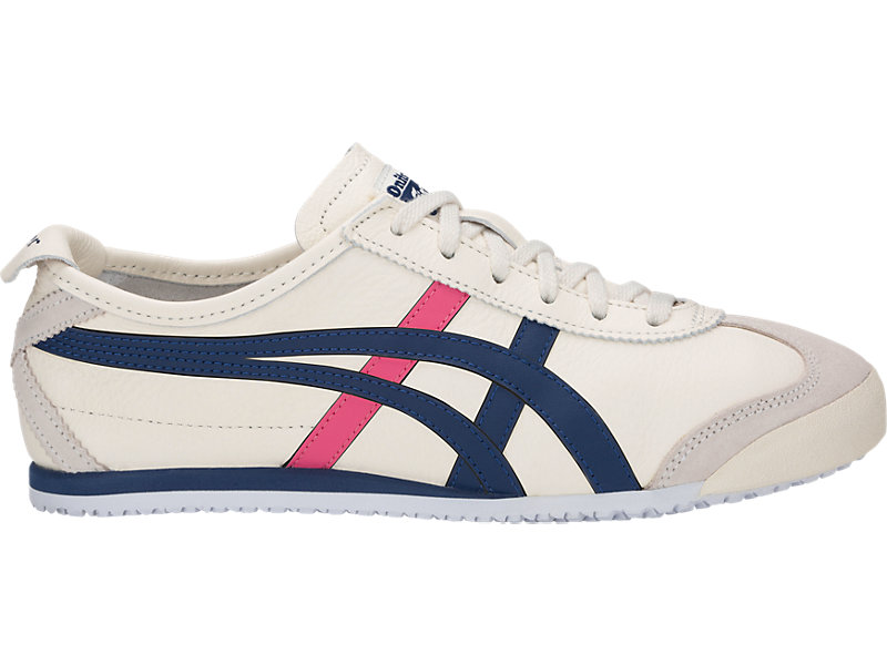 half off 1d9bd 4fced MEXICO 66 | WOMEN | Cream/Midnight Blue | Onitsuka Tiger ...