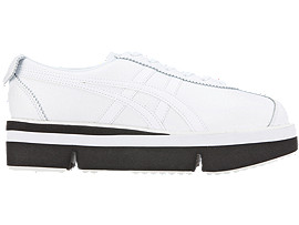 Right side view of Pokkuri Sneaker Platform, WHITE/WHITE