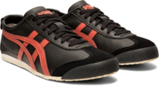 onitsuka tiger mexico 66 black true red 11s womens