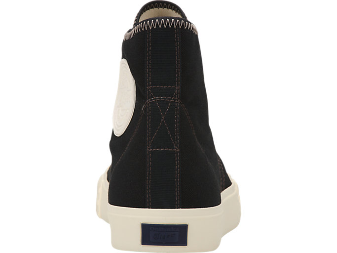 Back view of OK BASKETBALL MT, BLACK/BLACK