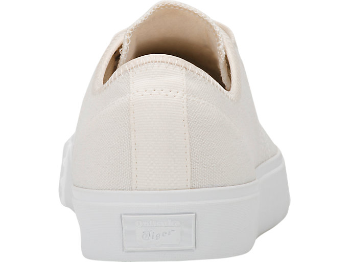Back view of OK Basketball Low-Top, CREAM/CREAM
